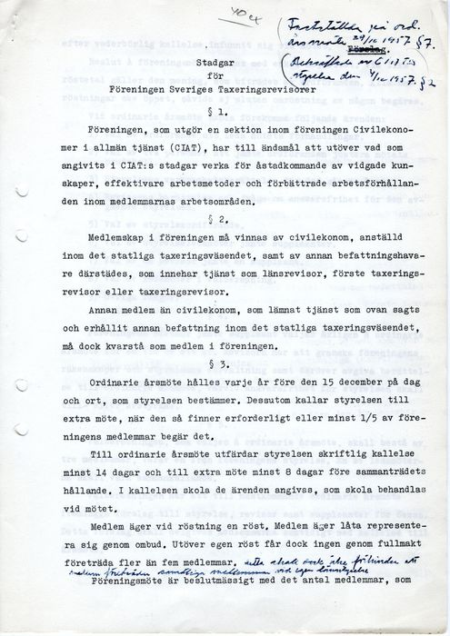 Preview of file w_TAM-Arkiv_Civilekonomerna_0002_651_A1B-1_Stadgar_1957_Foreningen_Sveriges_Taxeringsrevisorer_1957-12-04.pdf at http://www.tam-arkiv.se/share/proxy/alfresco-noauth/tam/content/workspace/SpacesStore/17ded198-2f0c-4223-94c3-9d7c56f84a5f with style overlay_preview is not available.