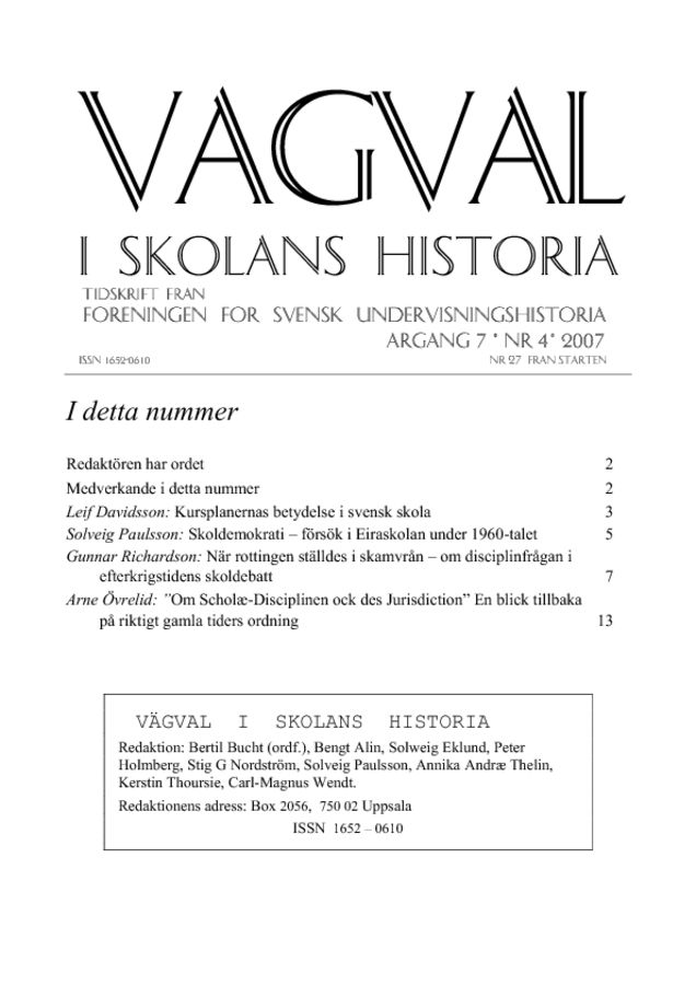 Preview of file Vagval_2007_nr_4.pdf at http://www.tam-arkiv.se/share/proxy/alfresco-noauth/tam/content/workspace/SpacesStore/a1801880-8ce3-4174-b050-e69f307c58d6 with style overlay_preview is not available.