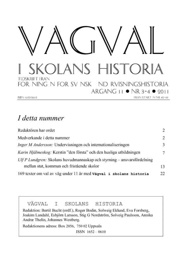 Preview of file Vagval_2011_nr_3-4.pdf at http://www.tam-arkiv.se/share/proxy/alfresco-noauth/tam/content/workspace/SpacesStore/df717e23-23fa-4029-854b-a0396dd90b0d with style overlay_preview is not available.