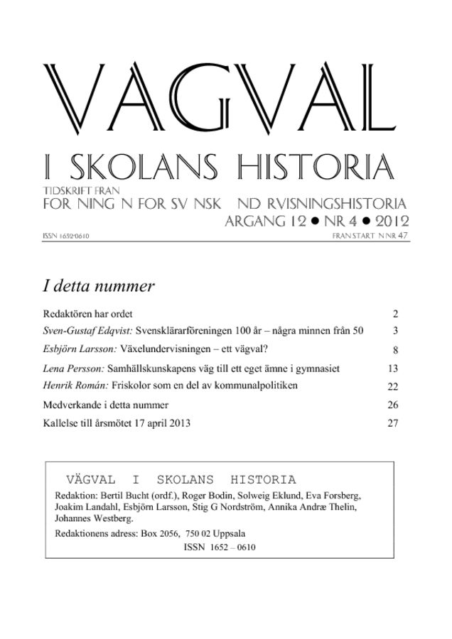 Preview of file Vagval_2012_nr_4.pdf at http://www.tam-arkiv.se/share/proxy/alfresco-noauth/tam/content/workspace/SpacesStore/f93686da-af04-4ec2-a819-107116ec0973 with style overlay_preview is not available.